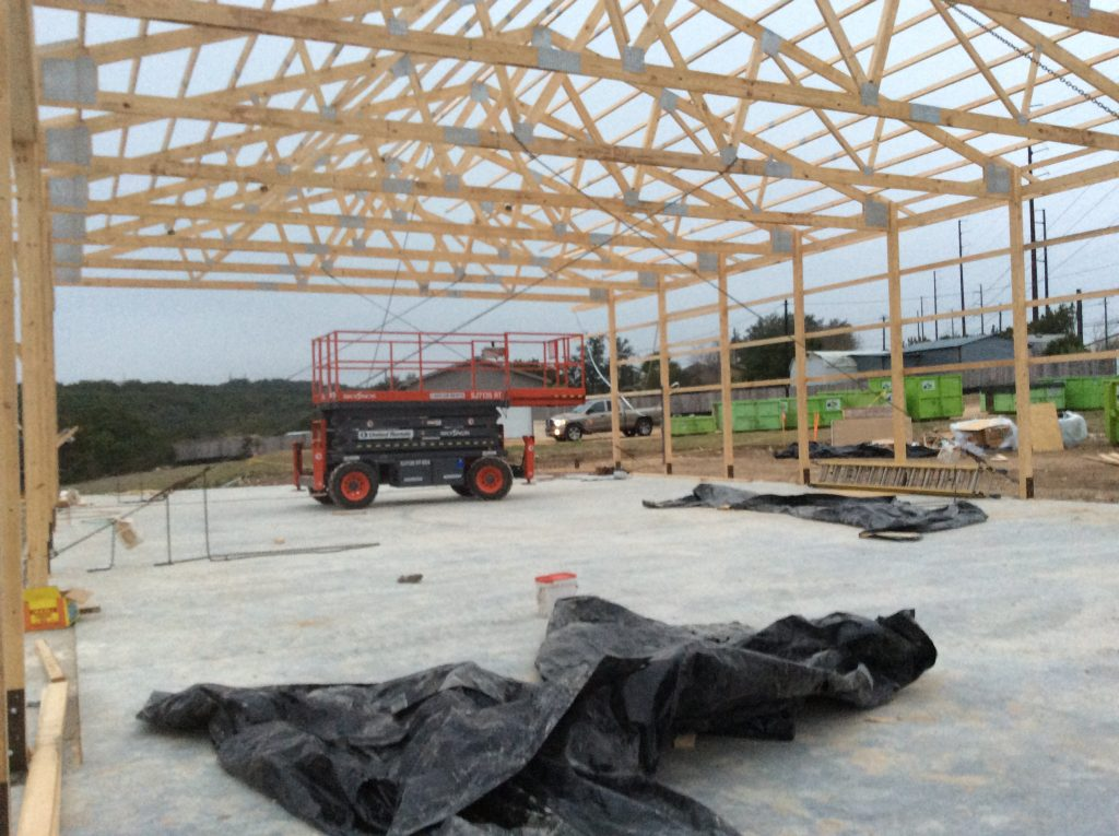 Warehouse Framing Trusses
