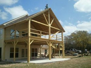 Two Story Deck Project