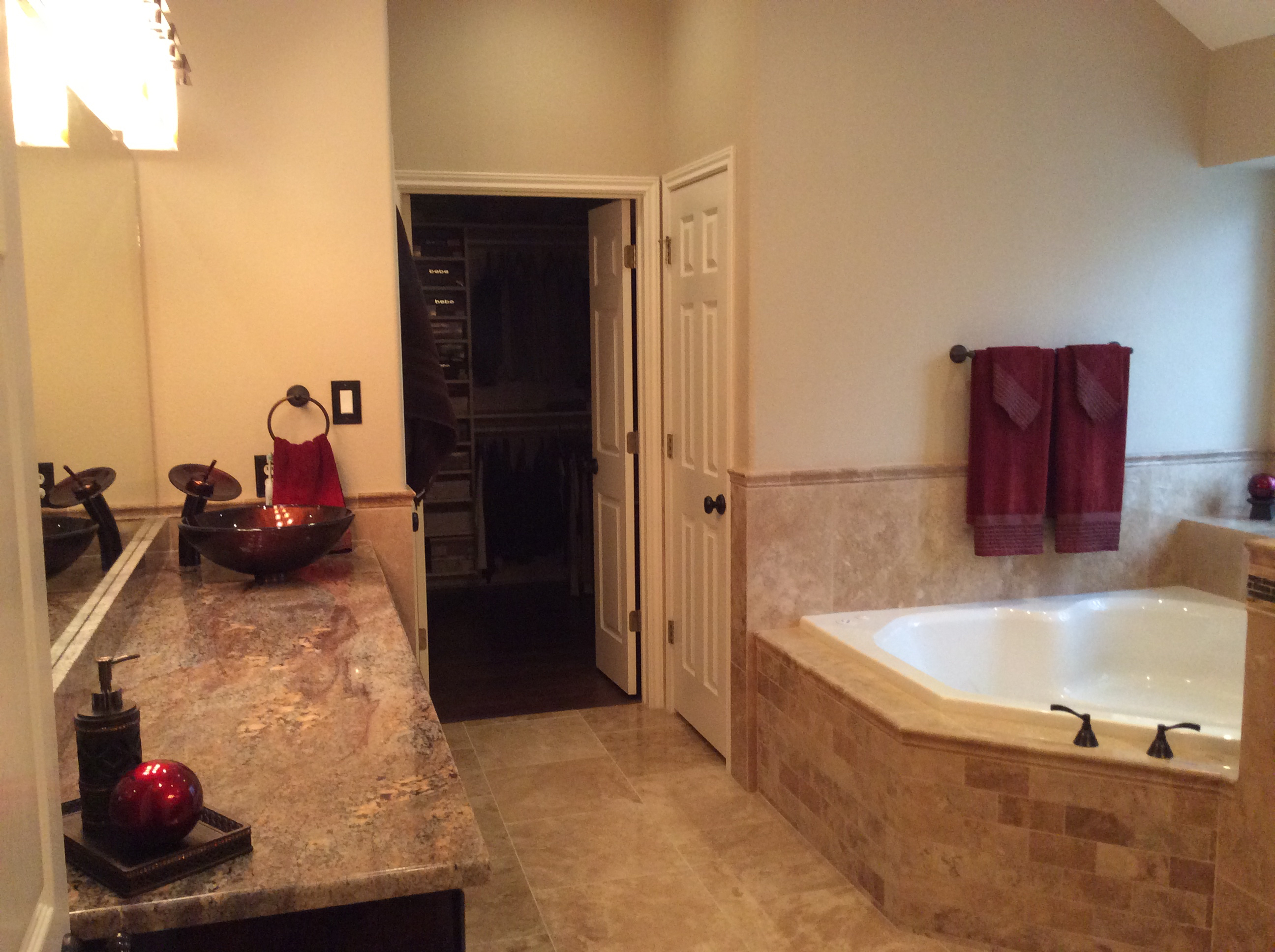 Bryer Creek bathroom remodel