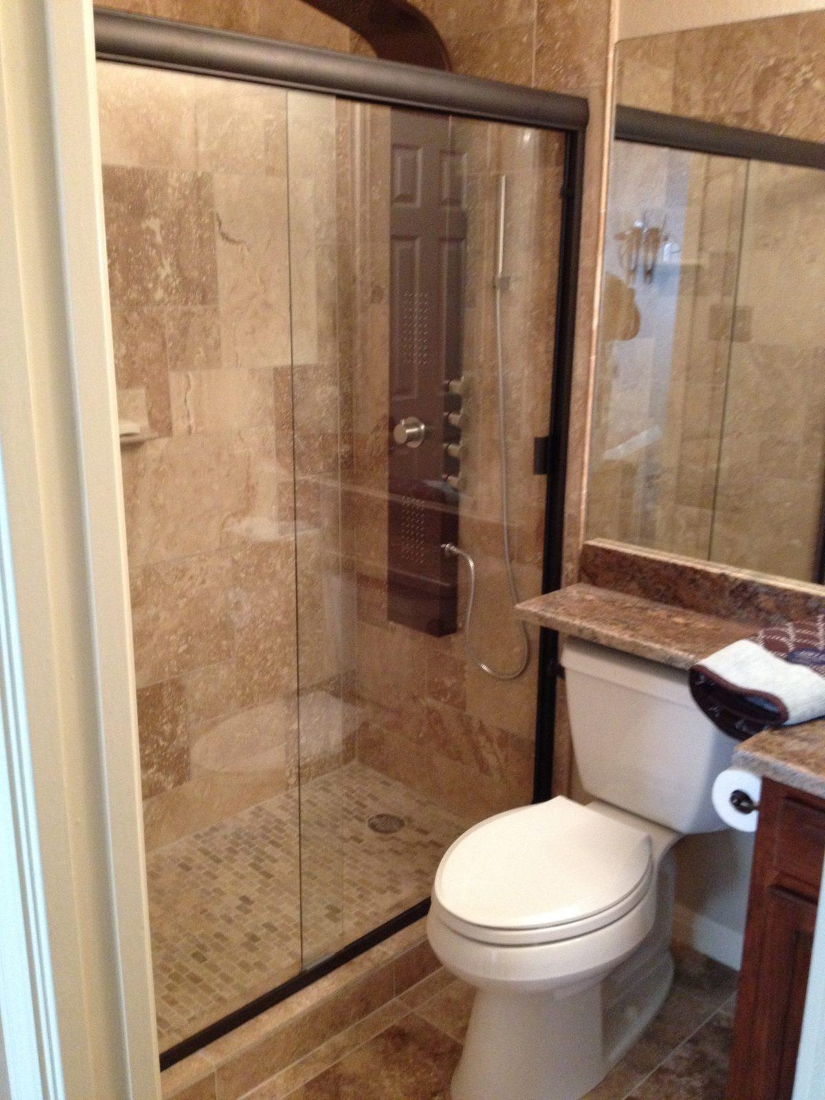 guest bathroom remode