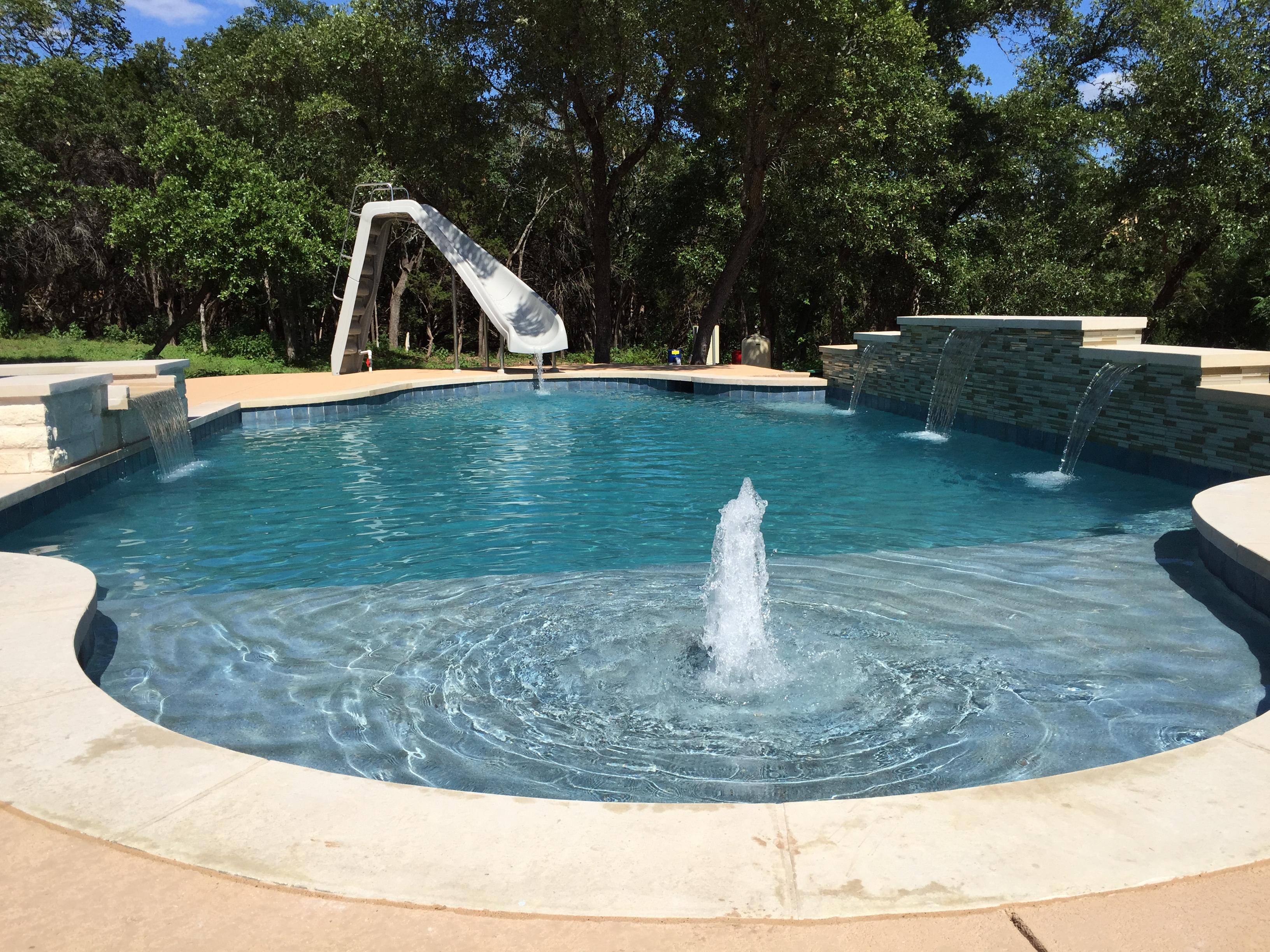 Volente Pool Build