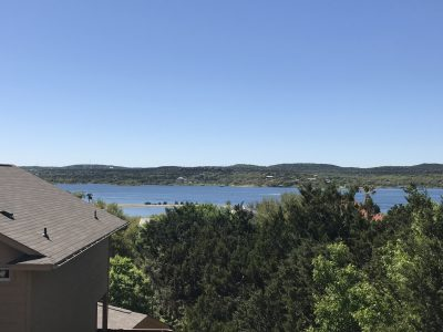 Lake Travis view from upper deck
