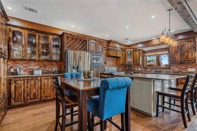 spicewood custom kitchen