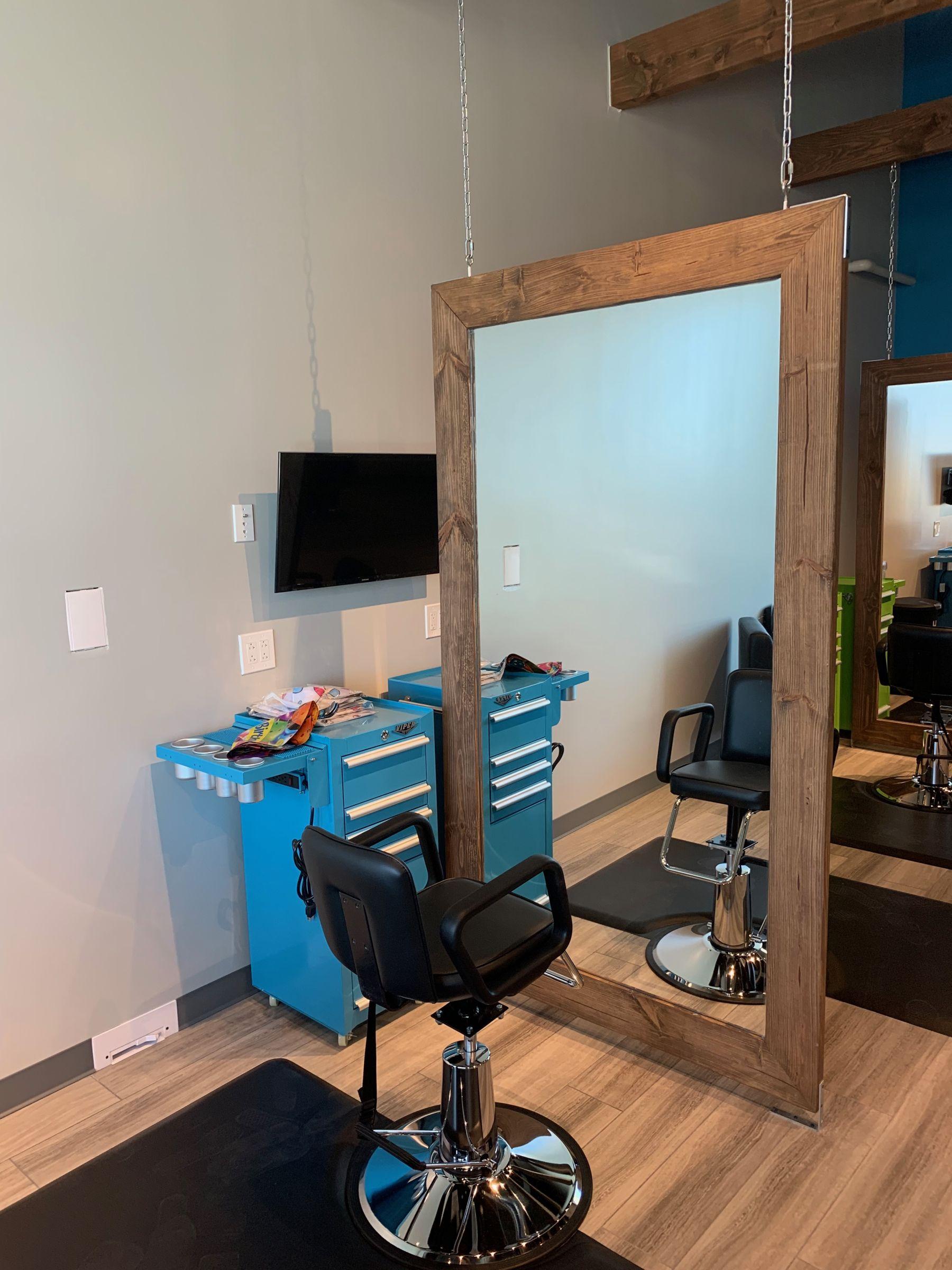 hair salon construction