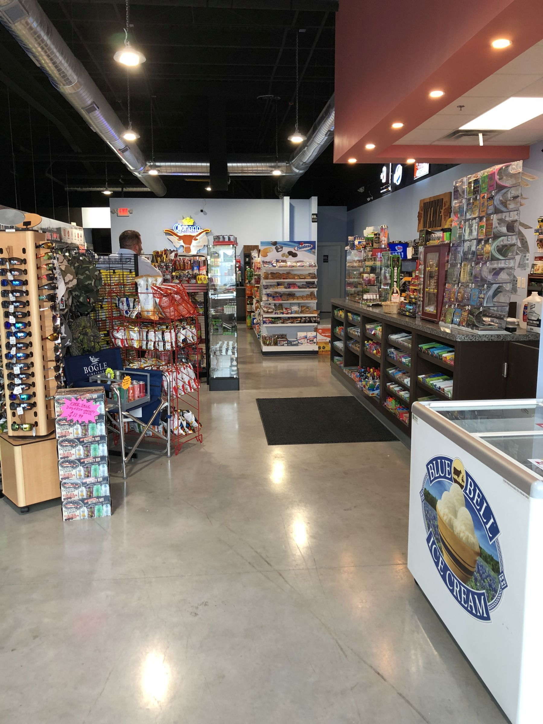 convenience store commercial finish out
