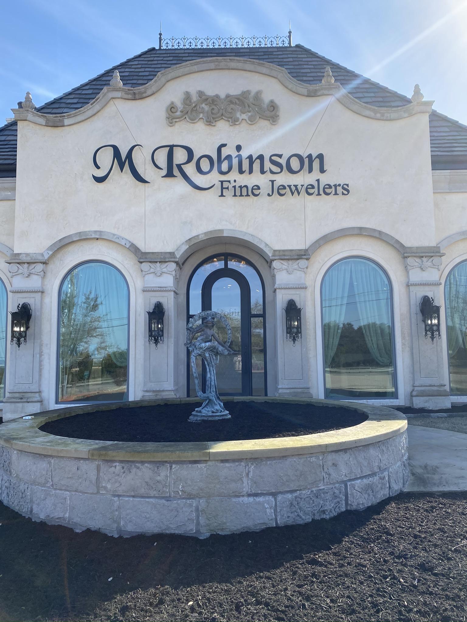 M Robinson Entry Exterior
